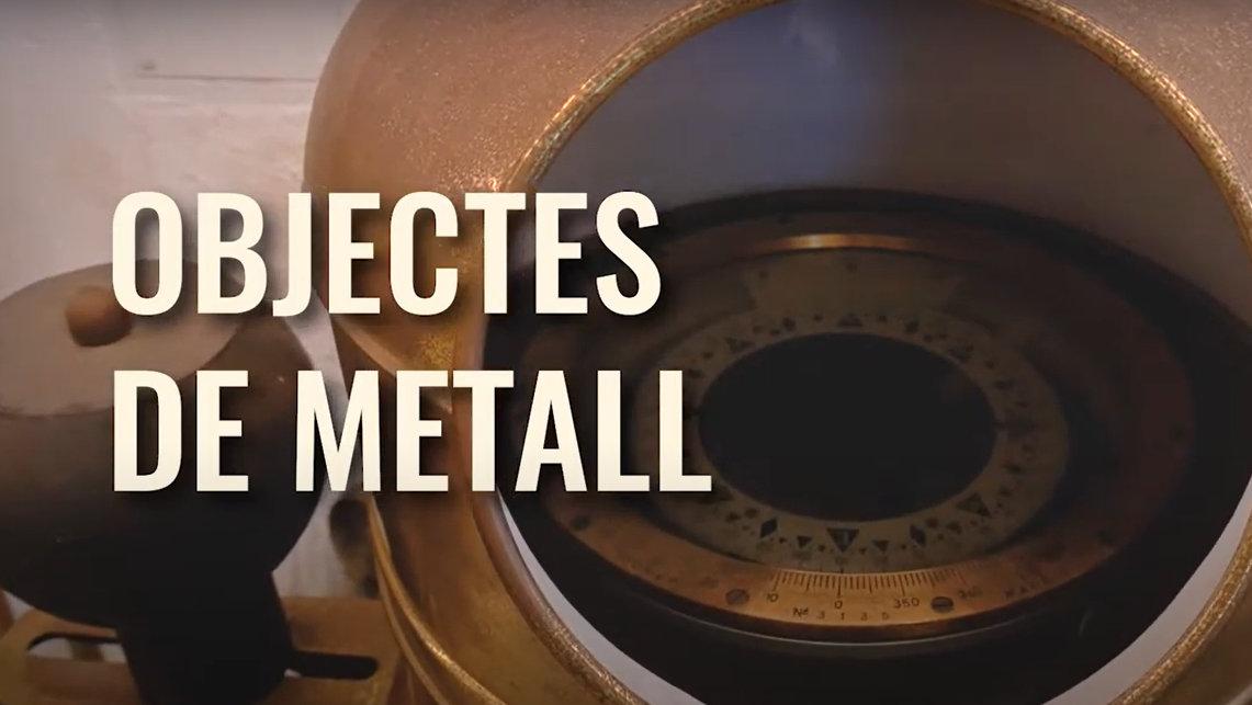 Objectes de metall. Conservar els records a casa