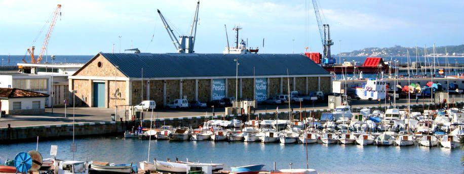 Edifici del Tinglado. Port de Palamós
